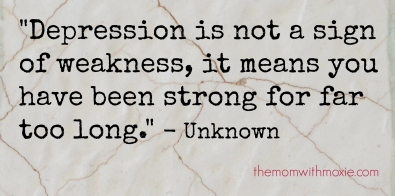 Depression-is-not-a-Sign-of-Weakness